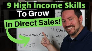 9 High Income Skills to Grow Your Direct Sales Business and Beyond