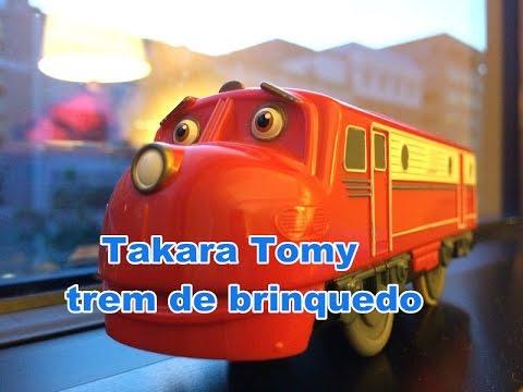【trem de brinquedo】 Chuggington CS-01 Wilson Tomy Plarail Marriott Washington DC 01912 pt