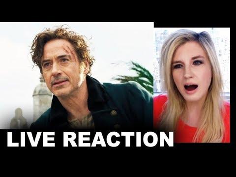Dolittle Trailer REACTION