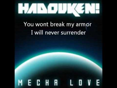HADOUKEN! - MECHA LOVE with lyrics