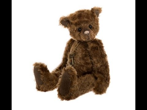 Robert Plush Teddy Charlie Bears