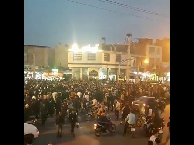 Manfestation ce soir à Ilam en Iran en solidarité avec la population à Lordegan