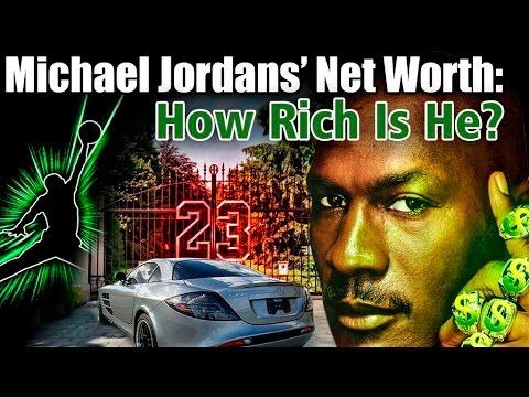 WOW, Michael Jordan is HOW Rich?!?