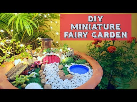DIY Miniature Fairy Garden | Meet My Son