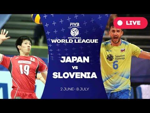 Japan v Slovenia - Group 2: 2017 FIVB Volleyball World League