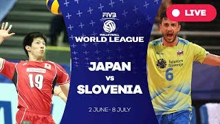 Japan v Slovenia - Group 2: 2017 FIVB Volleyball World League