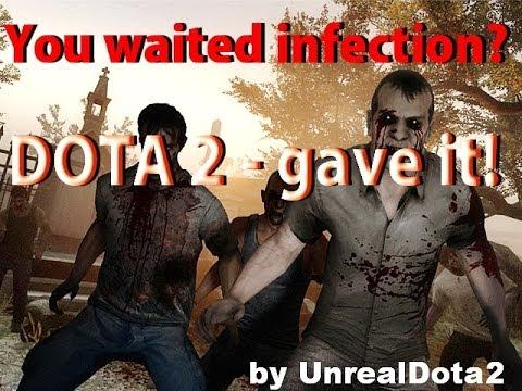 видео: infection mod and lucky items 3.00 dota 2 [Выживал...как мог :d]