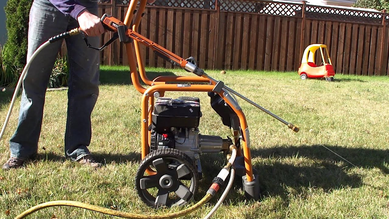 3000 Psi Power Washer Rd80746 Rd80947 Ridgid Plumbing