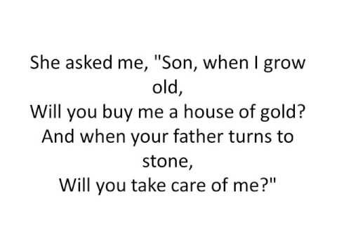 house of gold by twenty one pilots lyrics...