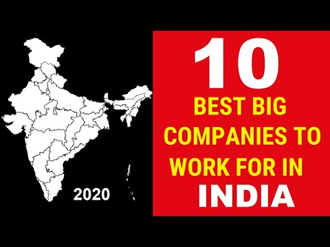Top Best Companies To Work For In INDIA | 2020