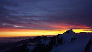 Mont Blanc 2016, Goûter Route | Aerial Footage of Aiguille du Midi