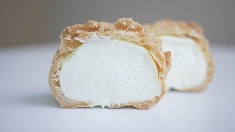 쿠키슈 만들기 슈크림   한세 Vanilla Cream Puffs
