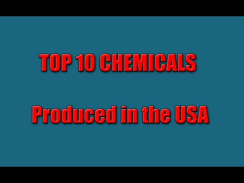 Top 10 Chemicals Produced in the USA