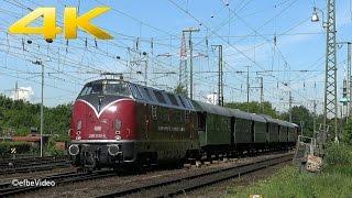 4K: Bunte Züge - Trains in Gremberg | V200, 151, 152, 189, 193 | 14.05.2015