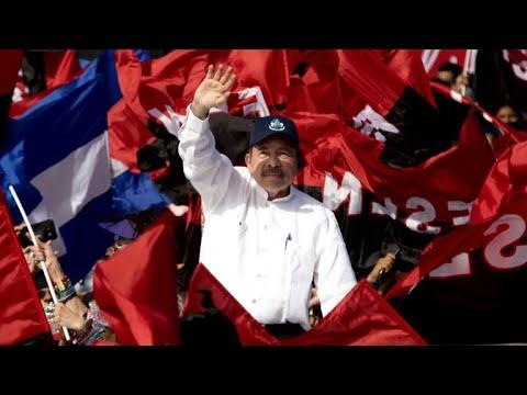 Hundreds protest against Nicaraguan President Daniel Ortega