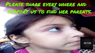 please support cute  pathan girl to find her parents