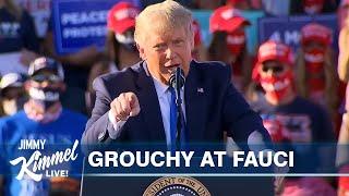Trump Attacks Fauci As COVID Cases Spike
