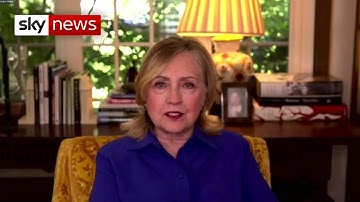 In full: Kay Burley talks to Hillary Clinton about Trump, COVID and Black Lives Matter