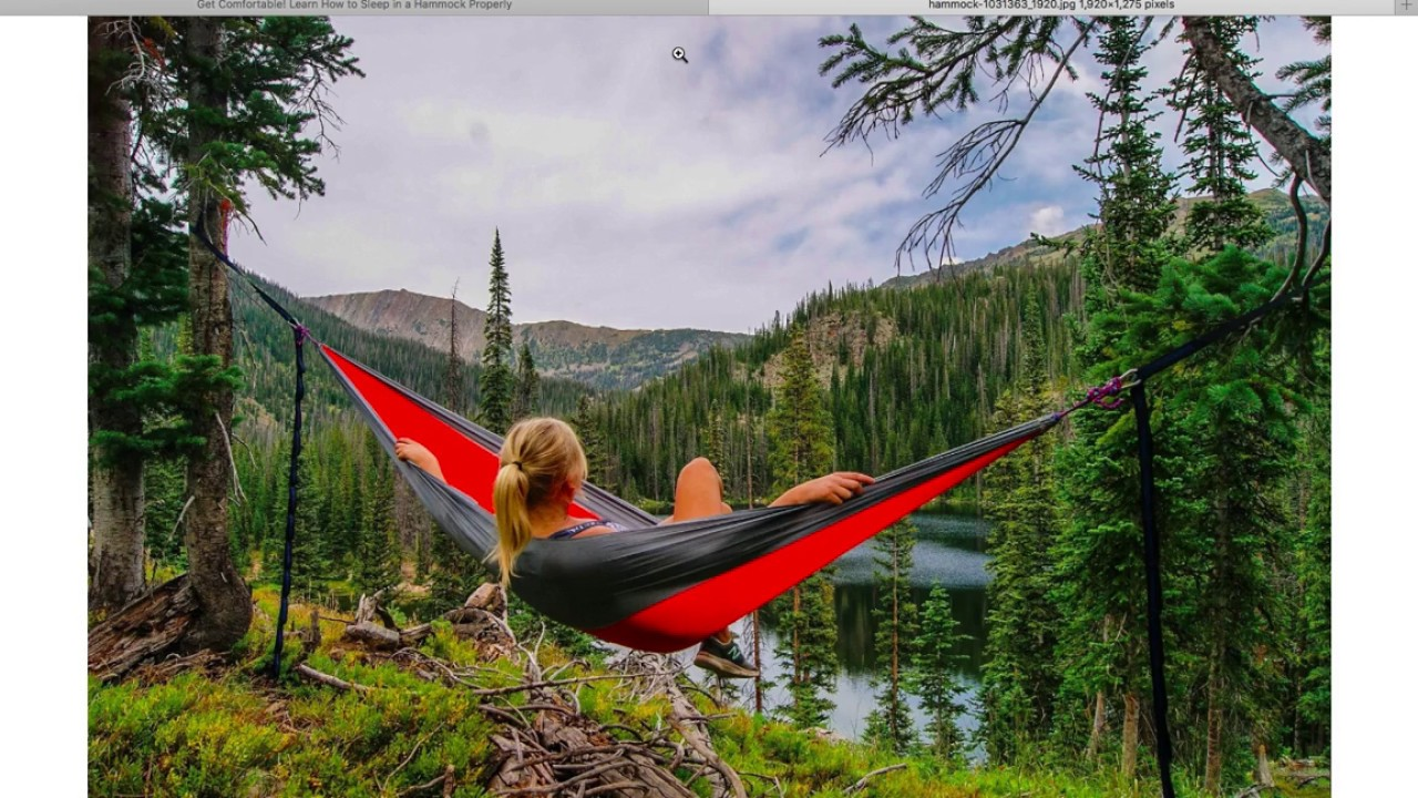 how to sleep in a hammock properly say goodbye to tents  how to sleep in a hammock properly   youtube  rh   youtube