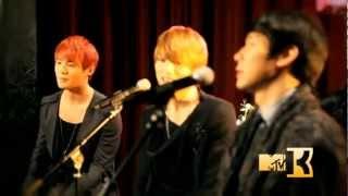 MTVK The secret show JYJ - Be My Girl (Acoustic Ver.)