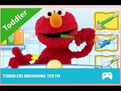 Elmo Brushing Teeth Sesame Street Youtube