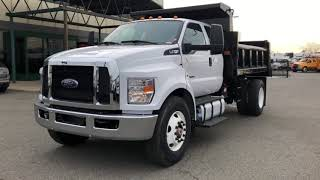 2017 Ford F-750 SuperDuty Extended Cab Dump Truck Rugby 12