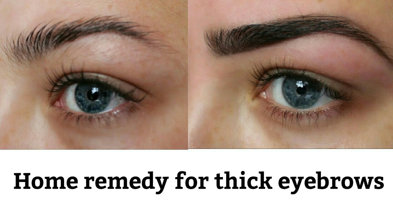 Get Thicker Eyebrows Super Fast Naturally Youtube
