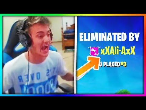 6 YouTubers Who Have Killed Ninja in Fortnite: Battle Royale! (ʘ_ʘ)