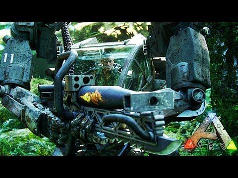 UN ROBOT CHEZ LES DINOSAURES ! | ARK: Survival Evolved !