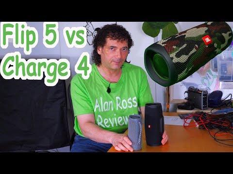 JBL Flip 5 Vs Charge 4 - Mono Shootout! Best JBL Speaker? - Detailed Overview For 2020!