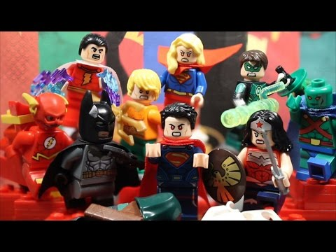 LEGO Superman Vs. The Justice League