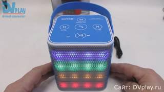Обзор мощной Bluetooth колонки WS-1801 со светомузыкой