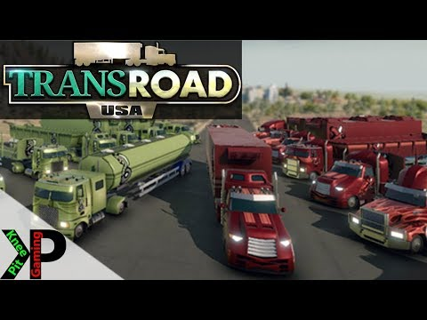 TransRoad:USA Lets Play #16 - Dump Trailers and New Depot - TransRoad:USA Gameplay