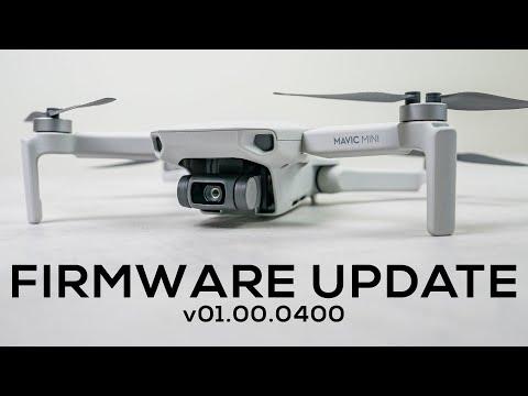 DJI Mavic Mini Firmware Update V0400 - Unlocking GEO Zones FINALLY Added!