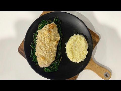 15 Minute Macadamia-crusted John Dory Fish Recipe