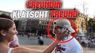 Freundin KLATSCHT Freund mit RASIERSCHAUM 😂 - Aufgabenbox l Yavi TV