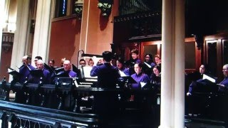 """The King of Love, My Shepherd Is"" - First & Franklin Presbyterian Church choir"
