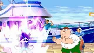 Oliver and Yuki Yuna vs Peter Griffin and Chun Li MUGEN BATTLE+Mega Man Zero and May MUGEN SURVIVAL