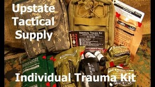 Individual Trauma Kit by Upstate Tactical Supply