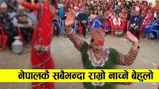 नेपालकै सबैभन्दा राम्रो नाच्ने बेहुलो  || Santosh Weds Sarita  || Panche baja Manigram