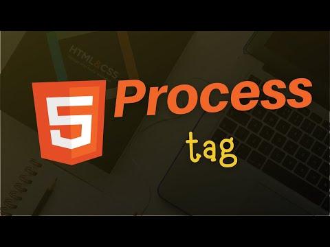 Process Tag in HTML 5 | HTML 5 Tutorial in Hindi thumbnail
