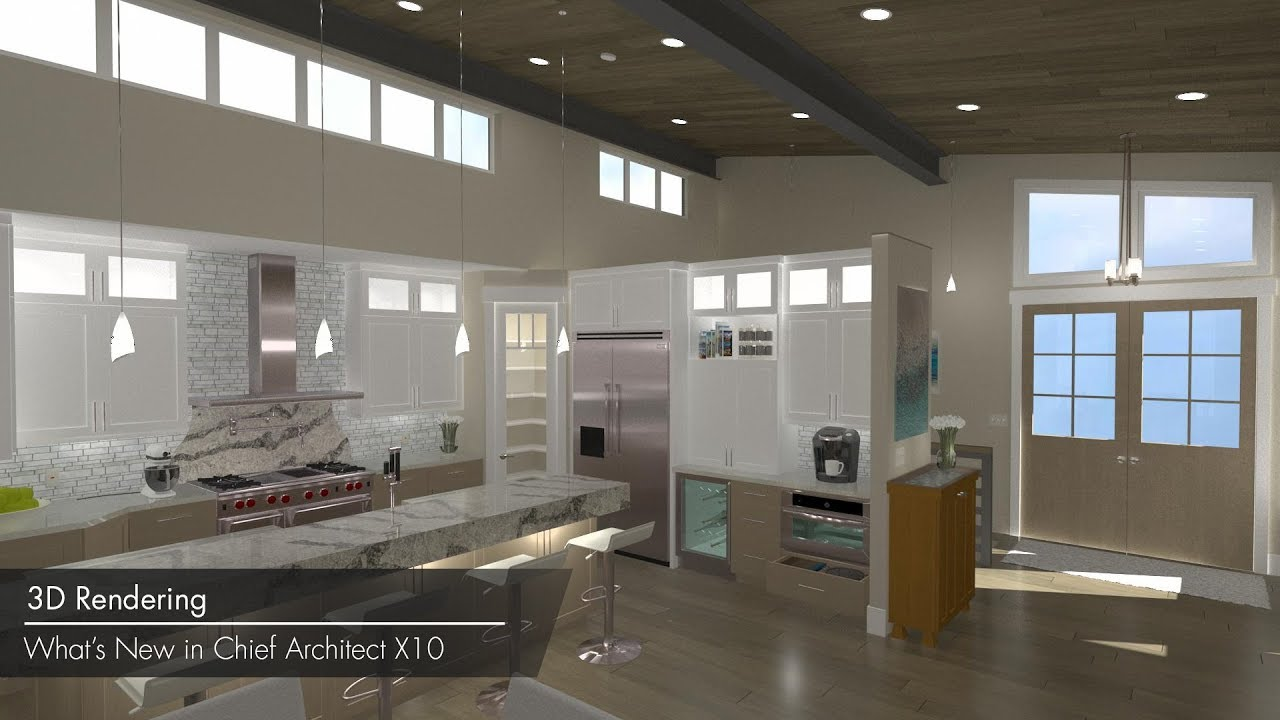 Elegant Chief Architect X10 New Features U2013 3D Rendering