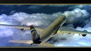 Airbus A340-500 aircraft - Etihad Airways