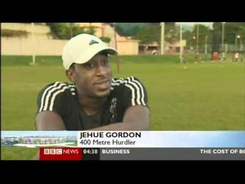 Trinidad and Tobago's Jehue Gordon on World Olympic Dreams - Part 1 of 2 (2011)