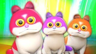 Три маленьких котёнка | лучшие детские песни | котята рифмы | детские стишки | Three Little Kittens