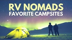The Best Campgrounds of 2017 from the Cast of RV NOMADS ??? RV Living Full Time
