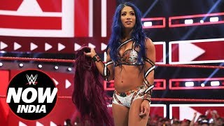 Sasha Banks returns with purpose: WWE Now India