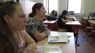 School 1253 Moscow Russia /Визитка школы на англ языке