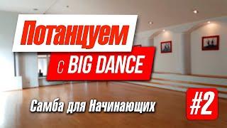 Потанцуем с BIG Dance - видео - урок Samba. Начинающий уровень