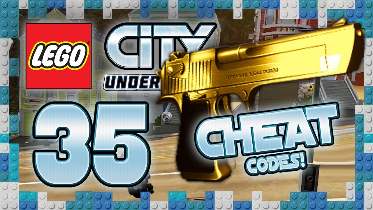 Lego City Undercover 35 Cheat Codes Die Goldene Farbwaffe 1080p Let S Play Youtube